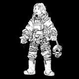 female astronaut Stock Photography