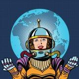 Earth Planet Pop Art Comic Vector Stock Vector - Image ...