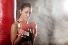Female athlete Royalty Free Stock Images