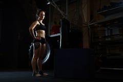 Female athlete Royalty Free Stock Image