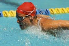 Female Athlete Swimming Royalty Free Stock Photo
