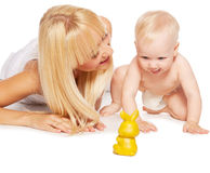 Female with baby Stock Photography
