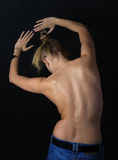 Female back Royalty Free Stock Photography