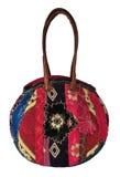 Female bag. Textile female bag isolated isolated on white Stock Photo