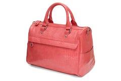 Female bag  on white background Royalty Free Stock Photo