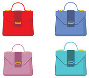 Female bags Stock Image