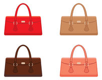 Female bags Royalty Free Stock Images