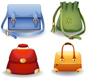 Female bags Stock Images