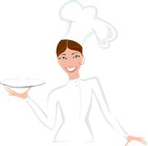 Female baker Royalty Free Stock Photo