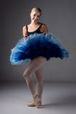Female ballet dancer Stock Photo