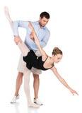 Female ballet dancer Stock Images