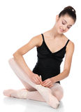 Female ballet dancer Stock Images