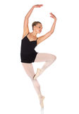 Female ballet dancer Stock Photography