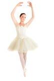 Female ballet dancer dancing Royalty Free Stock Image