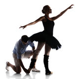 Female ballet dancer Royalty Free Stock Photo