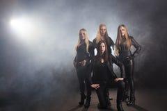 Female Band Royalty Free Stock Image