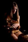 Female barbarian Stock Photo
