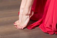 Female bare feet Royalty Free Stock Image