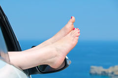 Female bare feet Royalty Free Stock Images