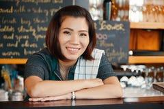 Female bartender Royalty Free Stock Images