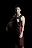 Female basketball Royalty Free Stock Image