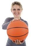 Female Basketball Player Royalty Free Stock Image
