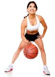 Female basketball player Royalty Free Stock Image