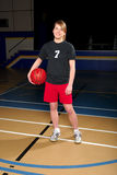 Female Basketball Player Stock Photography