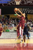 Female Basketball players in action Stock Photography