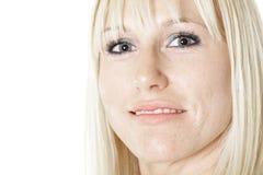 Female with beautiful eyes Stock Images