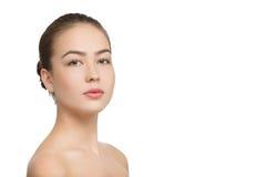 Female beautiful portrait Stock Images