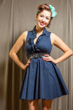 Female beauty inspired by classic era Stock Photo