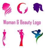 Female Beauty Logo Royalty Free Stock Photo