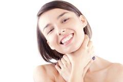 Female beauty portrait Stock Photos