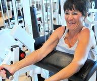 Female beauty workout. stock photo