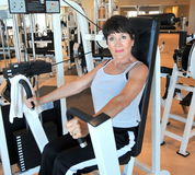 Female beauty workout. royalty free stock photo
