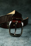Female belt   leather Royalty Free Stock Photography