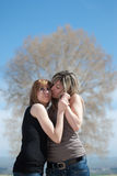 Female best friends Royalty Free Stock Photography