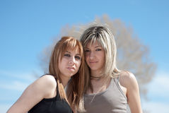Female best friends Stock Photography