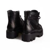 Female black boots Stock Photo