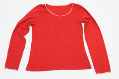 Female Blouse in Red Stock Image