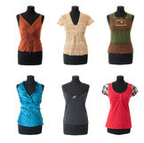 Female blouses collection #1   Isolated Stock Images