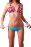 Female body in swimwear Stock Image