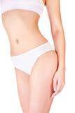 Female body in underwear Royalty Free Stock Photography