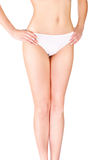 Female body in underwear Stock Photo