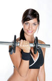 Female bodybuilder Stock Photography