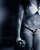 Female bodybuilders Stock Photography