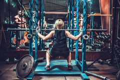 Female bodybuilding competitions Royalty Free Stock Photography