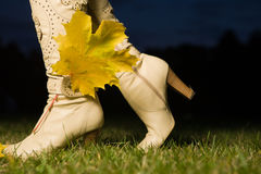 Female boots Royalty Free Stock Image