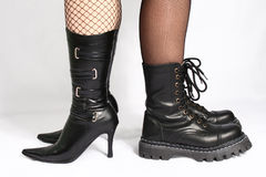 Female Boots Stock Photo